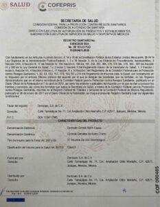 Registro Sanitario en México